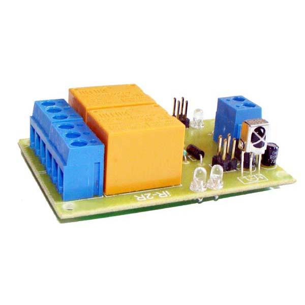 2 Channel IR Remote Control Relay Board – IR-2R