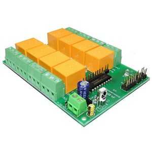 8 Channel IR Remote Relay Board – IR-8R-V