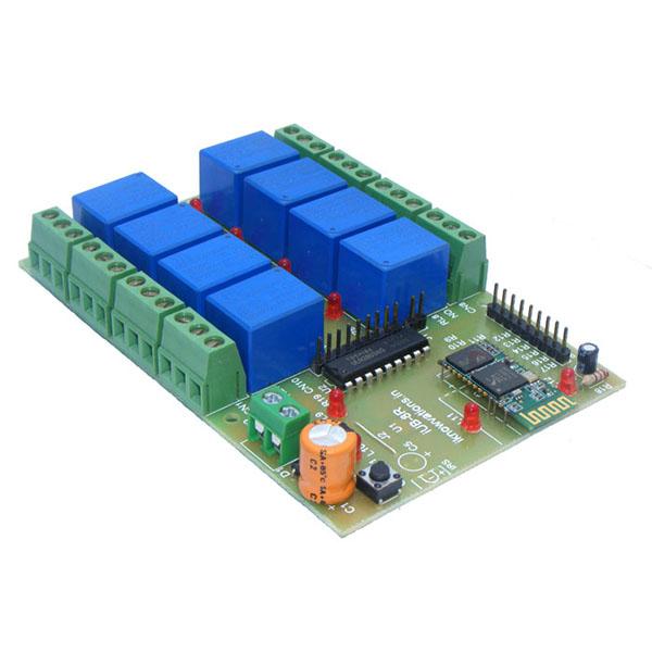 Bluetooth Relay Board 8 Channel – IUB-BT8R