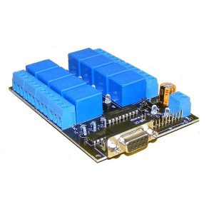 IRS-8R 8 Channel RS232 Relay Card